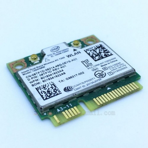 Card Wifi 802.11AC Laptop Dell M4500 M4600 M4700 M4800