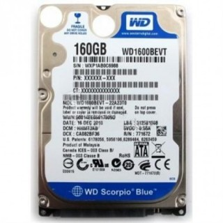HDD Laptop 160GB Cũ