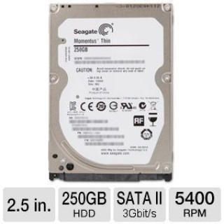 HDD Laptop Seagate 250G Slim