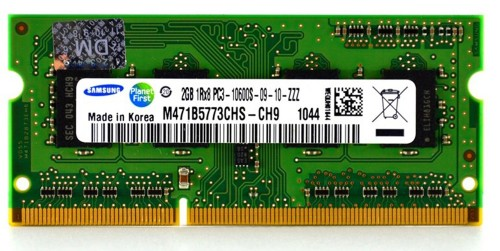 Ram Laptop DDR3 2GB PC3 10600s