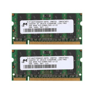 Ram Laptop Micron DDR2 2G PC2-5300s