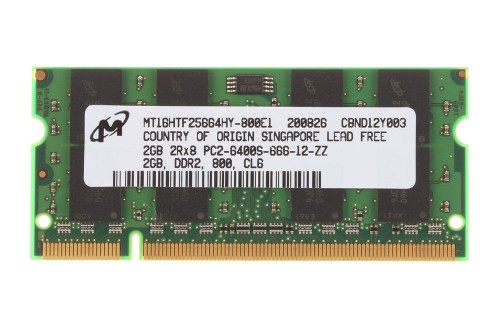 Ram Laptop Micron DDR2 2G PC2-6400