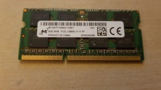Ram Laptop Micron DDR3L 8G PC3L-12800s