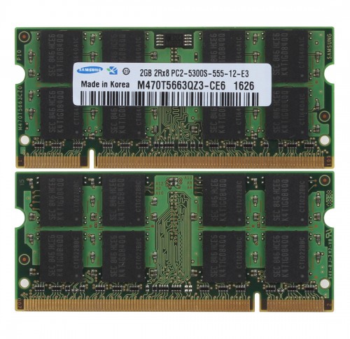 Ram Laptop Samsung DDR2 2G PC2-5300s