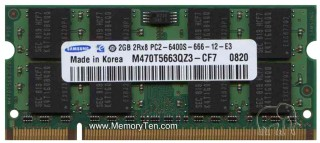 Ram Laptop Samsung DDR2 2G PC2-6400S