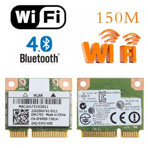 Thay Card Wifi Bluetooth Cho Laptop